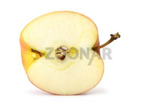 The cut apple