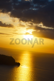 Sunset over Andaman Sea