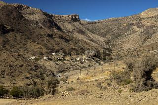 Siedlung Dar A'Sawda im Jebel Shams, Oman