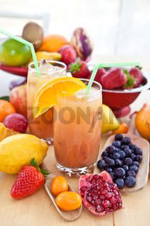 Saft von frischen Früchten