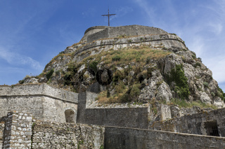 Die alte Festung in Korfu Stadt, Griechenland