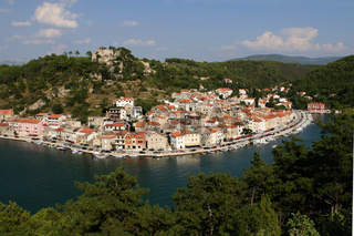 Novigrad, a picturesque Dalmatian town.