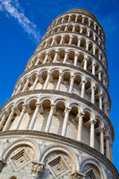 Leaning Tower of Pisa close up