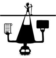 Music Promoter Shadow Cartoon