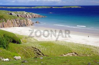 Wunderbar, einsamer Strand bei Durness