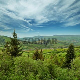 Landscape - Carpathians mountains, Ukraine