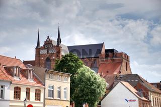 Wismar, St. Georgen-Kirche,  Hansestadt, Mecklenburg-Vorpommern, Deutschland