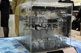 glaesener Geschirrspueler auf der Internationalen Funkausstellung in Berlin 2011, IFA, Berlin, Deutschland, Europa