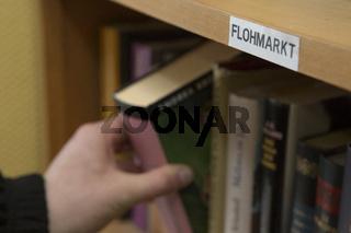 Bücher Flohmarkt