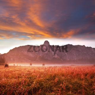 Yosemite at sunrise