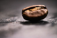 Macro coffee bean, roasted signature mix with rich flavour, best morning drink and luxury blend