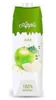 Fruit Juice Apple Packaging Isolated White Background