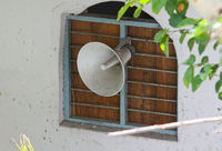 loudspeaker of mosque