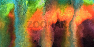 green red abstract watercolor background