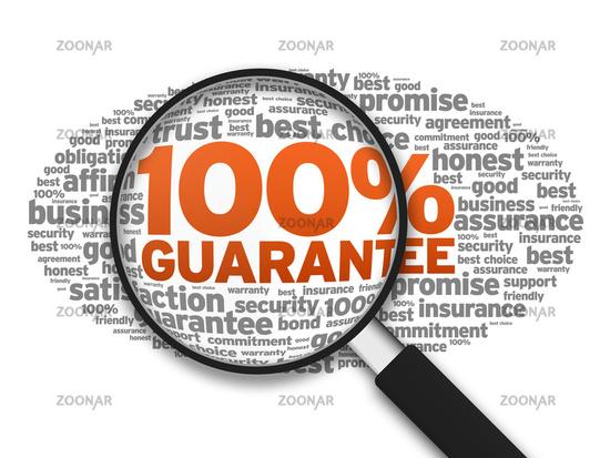 100% Guarantee
