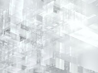 Pale background in white and gray colors - abstract 3d illustration