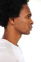 Portrait afrikanischer junger Mann