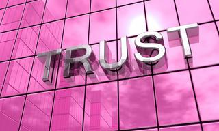 Spiegelfassade Pink - Trust Konzept