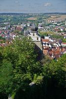 Herrenberg with collegiate church, Baden Wuerttemberg, Germany