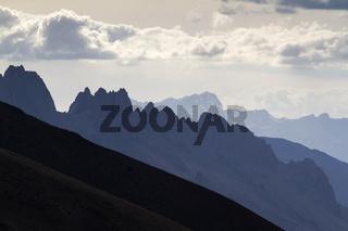 Gebirgslandschaft in Ladakh, Nordindien