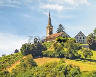 Evangelische Buchberg-Rüdlingen, Kanton Schaffhausen, Schweiz