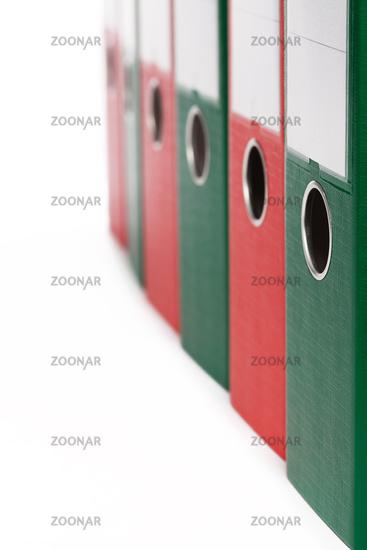 ring binder closeup