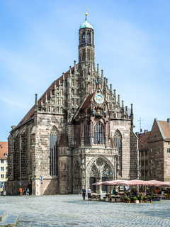 church Nuremberg Bavaria Germany