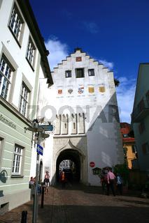 Torschloss mit Stadttor