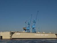 Dock 2 of Cassens Shipyard, Germany