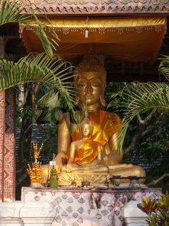 Buddha, Buddhastatuen, Luang Prabang, Laos