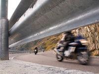 motorbikes on tour