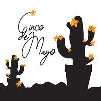 Cinco de Mayo annual celebration poster