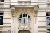 Lützowstr. 4, House facade, Neustadt-Süd, Cologne, NRW, Rhineland