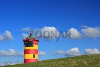 Leuchtturm Pilsum, Ostfriesland, Deutschland