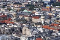 Aerial Panoramic View, Berlin, Germany