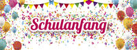 Colored Confetti Balloons Festoons Header Schulanfang