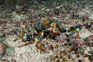 Batterien im Meer