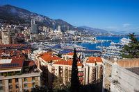 Principality of Monaco Cityscape
