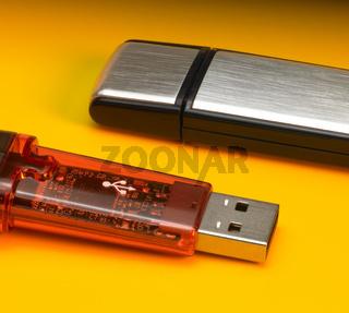 USB sticks detail
