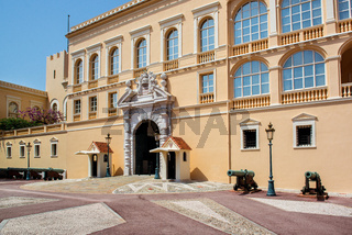 Princes Palace of Monaco. Official residence of the Prince of Monaco.