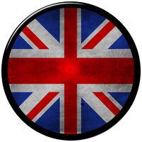 UK metallic button