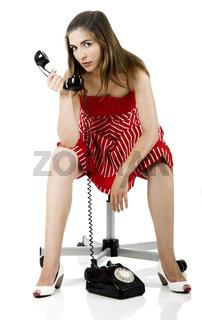 Telephone woman