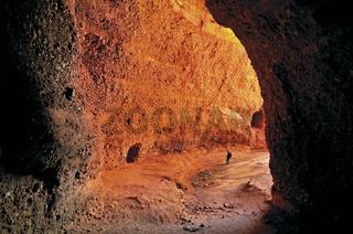 Spanien: Galerie der römischen Minen Las Medulas