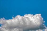 Blue sky with big cloud