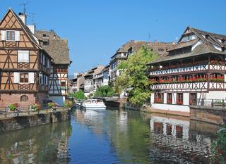 in La Petite France in Strassburg