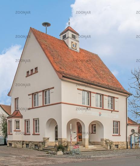 Town hall Öhningen-Wangen on Lake Constance