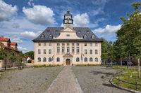 Rathaus von Ballenstedt im Harz