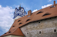 The roofs of Bernburg Castle