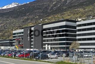 Produktionskomplex Ibex Solutions der Lonza Group AG für Produktion von Corona-Impfstoffen