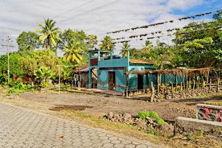 Dorfkirche, Insel Ometepe, Nicaragua